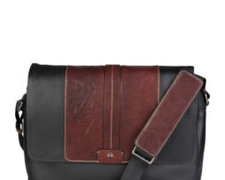 La Martina Pánská crossbody aktovka L61PM3450032_999_BLACK